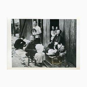 Evacuees in Hankou - Vintage Photo 1938 1938