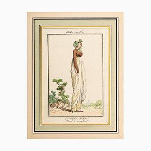 La Robe Déchirée - From Modes et Manières du jour à Paris ... Frühes 19. Jahrhundert