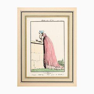 Adieu! - From Modes et Manières du jour à Paris... Early 19th Century