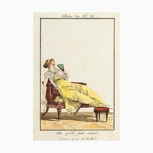 Ah qu'il faut saud! - From Modes et Manières du jour à Paris... Early 19th Century