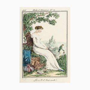 Lui at-il tout rendu? - From Modes et Manières du jour à Paris ... Frühes 19. Jahrhundert