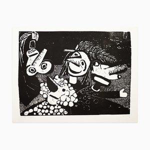 Puppen - Original Screen Print by W. Jorg - 1970s 1970s