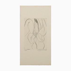 Gravure à l'Eau-Forte originale par W. Buchholz - 1966 1966