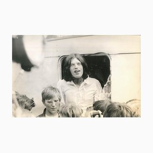 Vintage Photo of Mick Jagger - 1970s 1970s