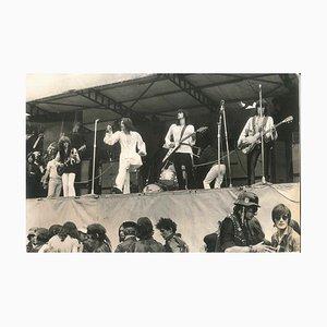 Rolling Stones Live - Foto vintage de Franco Cavassi - años 70
