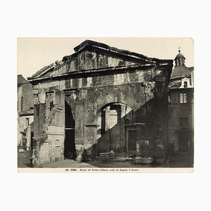 Zwei Vintage Ansichten des Ghettos in Rom von Studio Vasari - 1920er 1920er