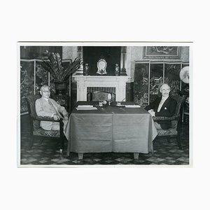 Hachiro and Craigie - Vintage Photo 1939 1939