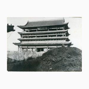 Vue sur la ville de Taiyuan - Photo Vintage 1938 1938