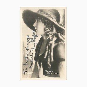 Portrait und Autograph von Mary Pickford - 1946 ca. Ca. 1946