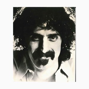 Vintage Photographic Portrait of Frank Zappa - 1973 1973