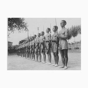 Young Boys Balilla durante l'allenamento - Foto originale vintage - 1934 ca. 1934 ca.
