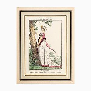 La Signature - From Modes et Manières du jour à Paris ... Frühes 19. Jahrhundert