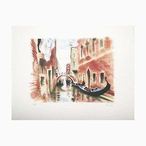 Venice - Original Lithograph 1960er 1960er