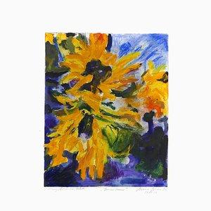 Sunflower - Original Gouache by Armin Guther - 2006 2006