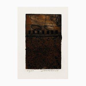 Informal Composition - Original Radierung und Aquatinta - 1968 1968