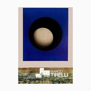 Vintage Ausstellungsplakat Nach Marco Tirelli - Galerie Di Meo Paris 2006 2006