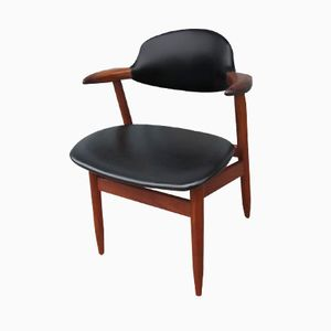 Propos Series Cowhorn Chair by TIjsseling for Hulmefa, 1960s