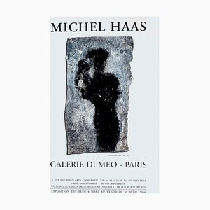 Michel Haas - Vintage Exhibition Poster Galerie Di Meo - 2004 2004