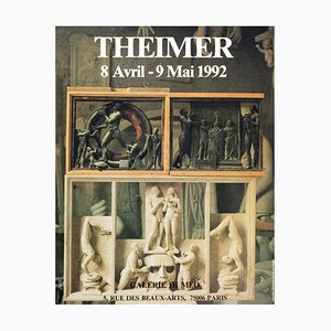 Theimer - Galerie Di Meo - Vintage Poster 1992 1992