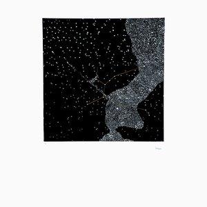 Stars - Original Lithograph by Pino Settanni - 1970 ca. 1970 ca.