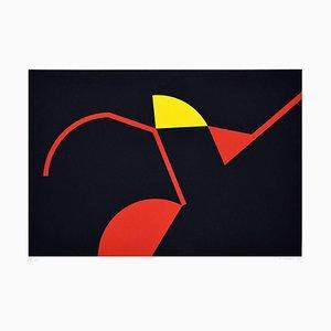 Tribal Colors - Original Screen Print by Renato Barisani - 1983 1983