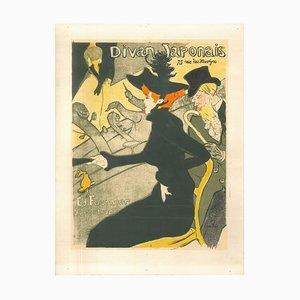 Divan Japonais - Original Litho After H. de Toulouse-Lautrec 1951