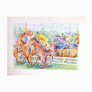 Rae Jockey no. 6 - Original Lithograph y S. Mendjisky - 1970s 1970s