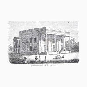 Orleans (New Orleans) - Original Woodcut - 1848 1848