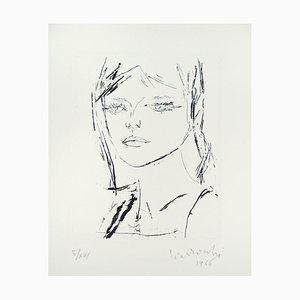 Anna's Portrait - Original Radierung von A. Ciarrocchi - 1966 1966