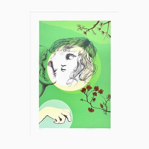 The Absent - Original Lithographie von Stefania Guidi - 1993 1993
