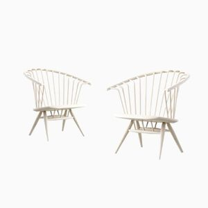 Crinolette Chairs by Ilmari Tapiovaara for Asko, Set of 2