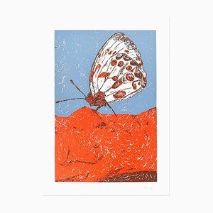 Butterfly - Original Lithografie von Nino Terziari - 1970s 1970s
