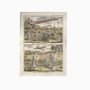 Gravure à l'Eau-Forte par G. Pivati - 1746-1751 1746-1751