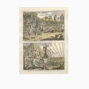 Angebote und Opfer an die Sonne unter den Floridianern - von G. Pivati - 1746-1751 1746-1751