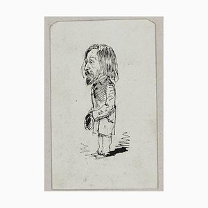 Dupendant - Original Pen Drawing by Unknot French Artist End of 19th Century End of 19th Century
