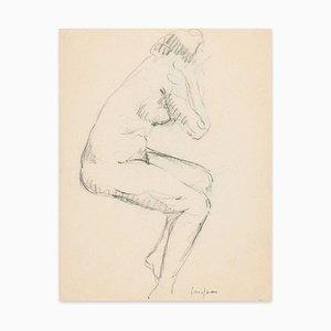 Female Nudes - Original Kohlezeichnung y Unbekannter Künstler Frühes 20. Jahrhundert Ende 19. Jh