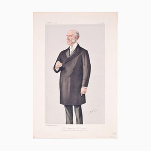 Mr. Chauncey M. Depew - Original Lithograph by Spy for Vanity Fair - 1889 1889
