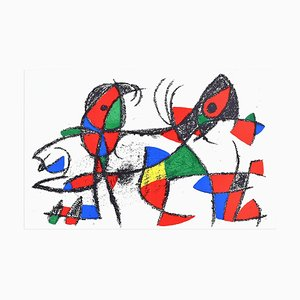 Composition X - Original Lithograph by Joan Mirò - 1974 1974