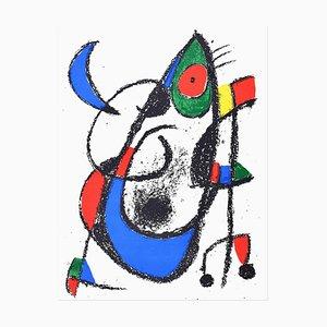 Lithographie Original par Joan Mirò - 1974