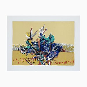 Brambles - Original Lithograph by Pietro Carabellese - 1970s 1970s