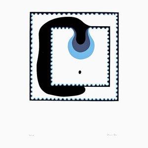 The Drop - Original Screen Print by Plinio Mesciulam - 1970s 1970s