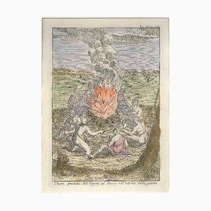 Ehre der Feuergottheit - von G. Pivati - 1746-1751 1746-1751