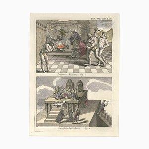 Mexikanische Buße und Sklavenopfer - von G. Pivati - 1746-1751 1746-1751