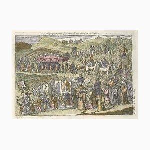 Funeral Prozession - von G. Pivati - 1746-1751 1746-1751