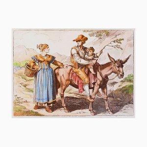 Customs of Civitacastellana - Radierung von Bartolomeo Pinelli - 1819 1819
