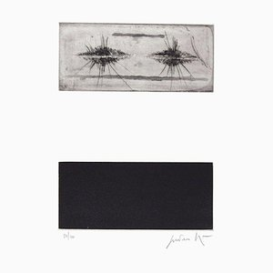 Tripartite Composition - Original Etching by Cesare Peverelli - 1973 1973