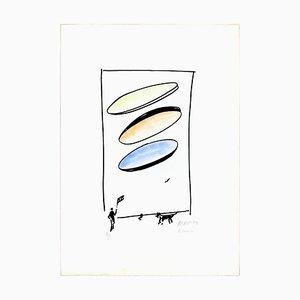 Chien - 20ème Siècle - Sante Monachesi - Lithographie - 1970 ca. 1970 env.