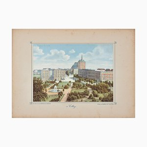 Lithographie Originale 19ème Siècle, 19ème Siècle