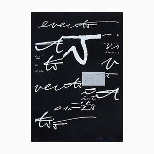 Hidden Signs - Original Lithograph by Plinio Mesciulam - 1970s 1970s