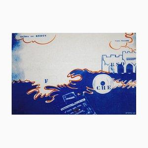 Untitled - Original Lithograph by Eugenio Miccini - 1964 1964